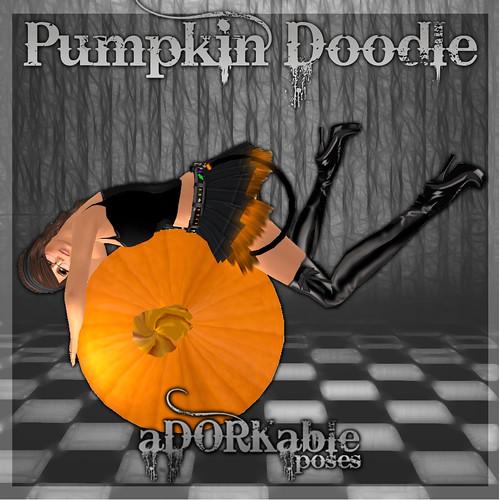 aDORKable Poses_ Pumpkin Doodle