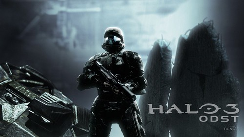 halo 3 odst wallpaper. Halo 3: ODST Wallpaper (With