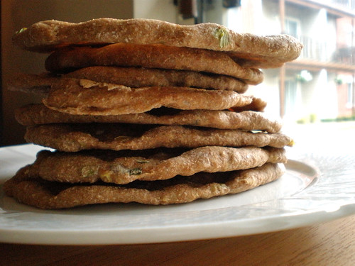 Scallion Pancake Flat Bread - We're Not Much More Than Anything..