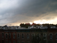 Cumulonimbus clouds in NYC (yankeesmann1918) Tags: nyc cloud wall thunderstorm cumulonimbus mesocyclone