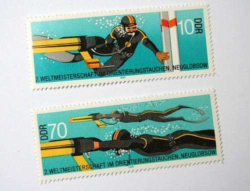 stamps DDR 1985