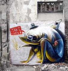take a break (BREakONE) Tags: portugal wall paint break graffity porto take 2009 oporto breakone