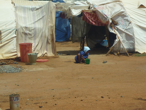 Conditions in the camps