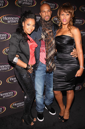 common rapper 2009. Singer Ashanti, rapper Common