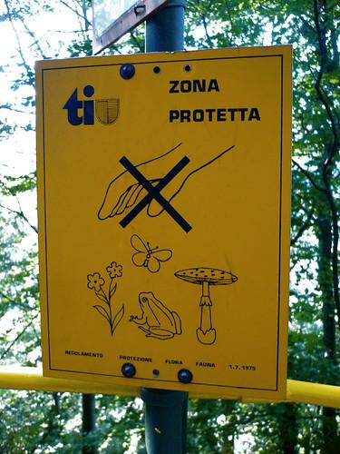 zone protetta.