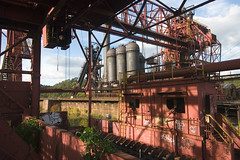 Monument to the Open Hearth Era (Sean  Posey) Tags: abandoned pittsburgh pennsylvania rankin urbex blastfurnace industrialdecay industrialarchaeology carriefurnace openhearth orebridge