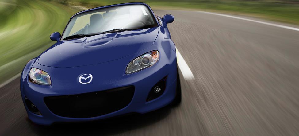 2010 Mazda MX-5 Miata Blue Mica