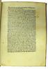 Annotations and coloured initial in Sallustius Crispus, Gaius: Opera