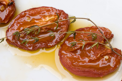Slow Roasted Tomatoes with Thyme 5