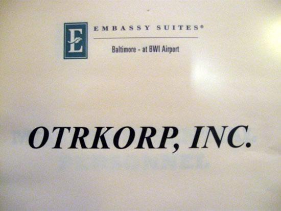 Misspelled Otakorp Sign (Click to enlarge)