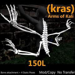 Arms of Kali - Halloween Special (Gilded:) Tags: life back arms kali attachment second alter kras myfirstitemupforsale