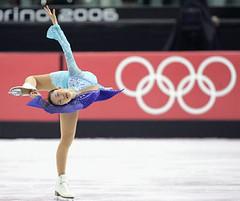 FIGURE SKATING / Shizuka Arakawa / Donut Spin -figure skater