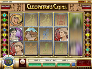 Cleopatra's Coins slot game online review