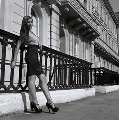 Beautiful Susannah (JFMercure) Tags: mediumformat bristol fp4 blackandwhitefilm