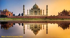 Taj Mahal India bioenergy