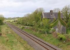 Ballymoe station, 10 May 2011 (Mr Joseph Bloggs) Tags: irish ir rail ie ballymoe