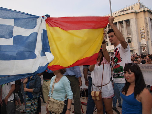 Greece's Los Indignados (Indignant) take to the streets
