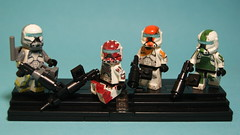 Lego CW Delta Squad Customs :D (Film Hero Productions) Tags: boss 2 3 trooper germany deutschland star 1 fight sticker lego 4 stickers delta battle creation cw sev wants wars squad custom clone trade decals droid commander moc scorch fixer custome minifigures brickarms littlearmsshop