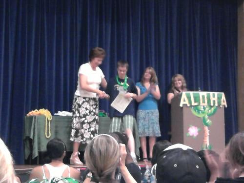 Fwd: Dulcie Graduates 6th Grade (AW!)