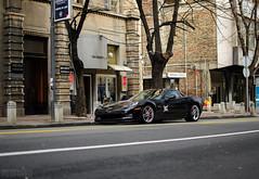 Beast. (Stefan Sobot) Tags: black chevrolet car race nikon muscle serbia fast exotic american belgrade corvette luxury rare coupe beograd supercar c6 z06 srbija d7000