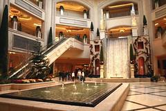 Palazzo Shopping (Prayitno / Thank you for (12 millions +) view) Tags: las vegas nevada palazzo hotel resort casino shopping waterfalls strip thestrip lasvegasstrip lv nv konomark design architect reflection pool