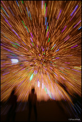 Explosion (Pacifist) Tags: winter japan illumination tunnel shizuoka gotemba zooming blueribbonwinner  tokinosumika 20082009 tokina1116