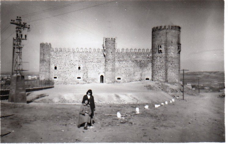 Castillo de San Servando el 19 de febrero de 1959. Fotografía de Mary Carmen Butragueño Cerviño