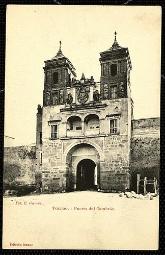 Puerta del Cambrón. Foto Garcés hacia 1905