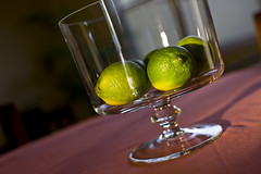 Lime Table Centerpiece