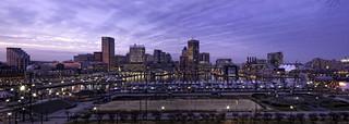 Inner Harbor Panorama - Baltimore, MD