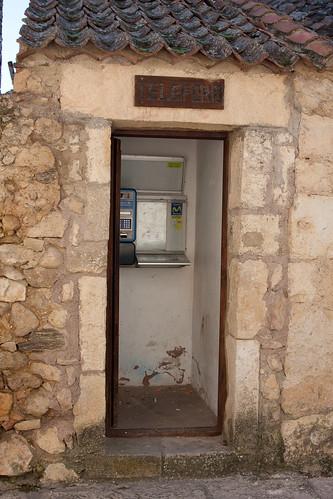 Cabina de teléfono de Pedraza