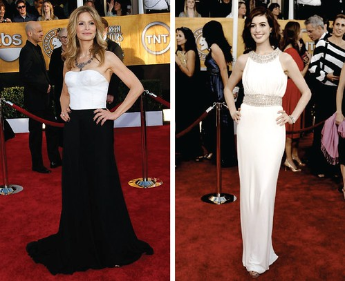 black and white SAG awards