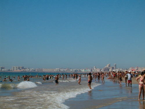 Playa de la Victoria / Victoria Beach  (Costa de la Luz), Cádiz por eszsara.