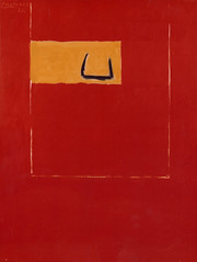 Motherwell, Robert (1915-1991) - 1972 Untitled (Red) (RasMarley) Tags: abstract american painter 1972 20thcentury motherwell abstractexpressionism robertmotherwell untitledred