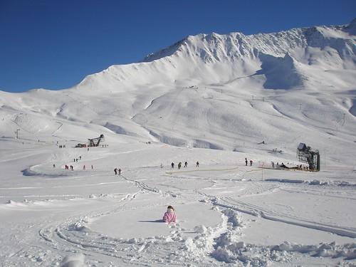 Ski area, Balme