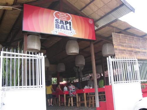 Sapi Bali resto - front