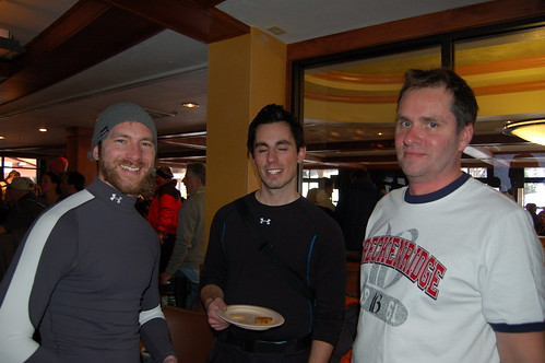 Jason, Jay, and John apres ski
