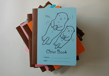 an otter book by you.