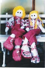 Bonecos Lino e Lena - A44 (Moldes videocurso artesanato) Tags: lena e lino bonecos a44