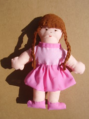 Nia Rosa (**Taller Muy Freak**) Tags: girls boys colors children toys doll nios colores kindergarten ragdolls trapo muecos fabrics telas clothdolls