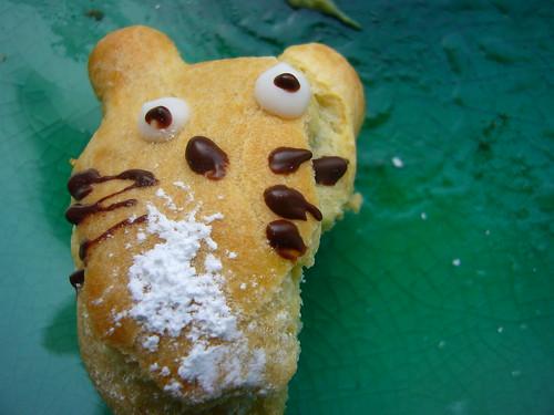 Totoro, being eaten