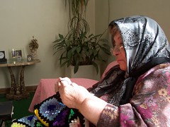 my mother (Nahidyoussefi) Tags: home mom iran mother persia tehran     nahidyoussefi handicroft