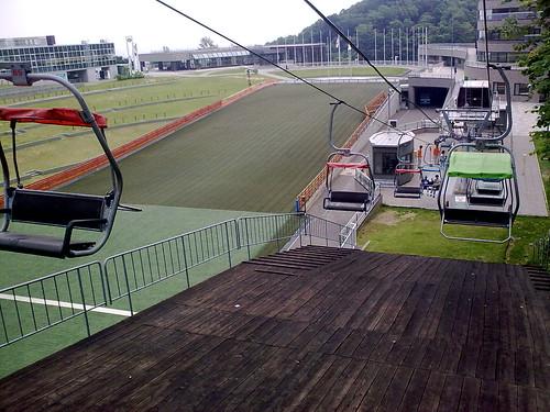 Okurayama SkiJump Studium-CableCar