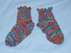 Broadripple socks - completed