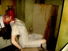 nurse with wound (JasonLee) Tags: house monster haunted corpse asylum