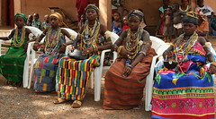 the dipo ceremony of the krobo girls in ghana (Retlaw Snellac) Tags: africa travel girl photo ghana dipo krobo