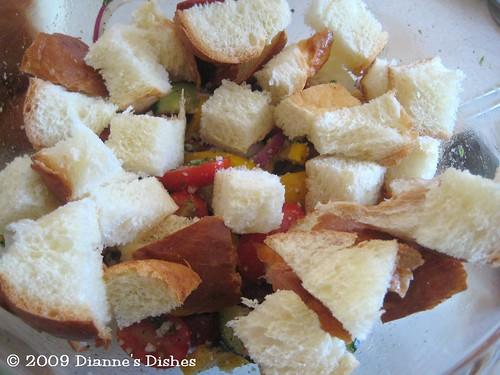 Bread Salad: Bread
