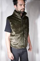 Luxurious faux fur vest (mattlong) Tags: fur design faux vests jackets tamo