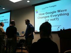 At the Atlanta Web Entrepreneurs meeting (brendanlim) Tags: standby surprised wakeup unexpected brendan lim automator brendanlim macbook