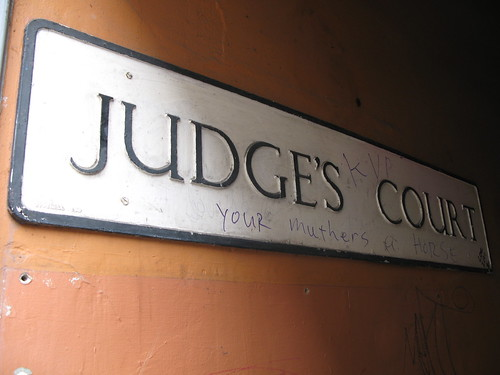 Judges Court  (Some rights reserved by AnnieGreenSprings)